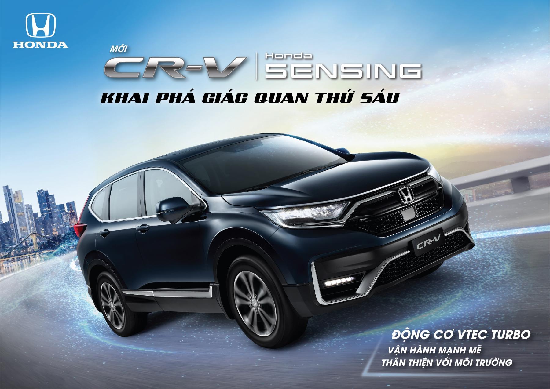 Honda CR-V 2020 - KHAI PHÁ GIÁC QUAN THỨ 6