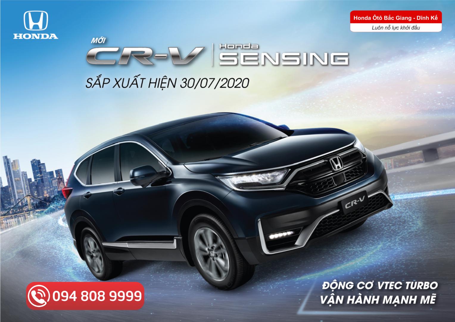 Honda CR-V 2020 sắp ra mắt thị trường Việt Nam